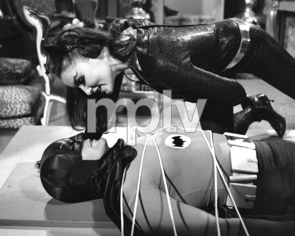 """Batman""Julie Newmar and Adam West1966 ABC**I.V. - Image 3285_0121"