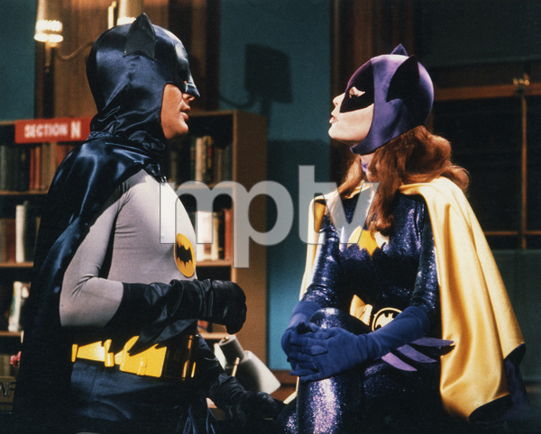 """Batman""Adam West & Yvonne CraigC. 1967**I.V. - Image 3285_0178"