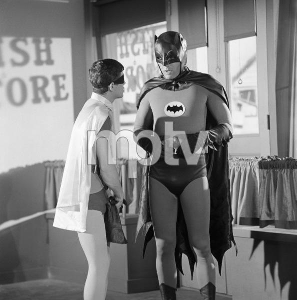 """""""Batman""""Burt Ward, Adam Westcirca 1960s© 1978 Jean Cummings - Image 3285_0189"""