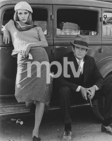 """""""Bonnie and Clyde""""Faye Dunaway and Warren Beatty1967 Warner Bros.**J.S.C. - Image 3314_0011"""