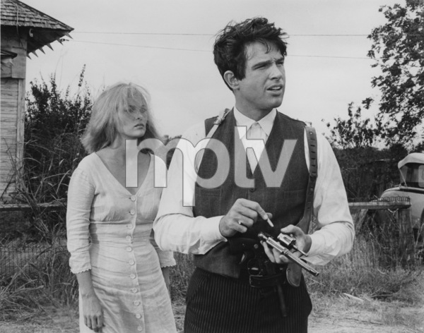 """""""Bonnie and Clyde""""Faye Dunaway and Warren Beatty1967 Warner Bros.**J.S.C. - Image 3314_0013"""