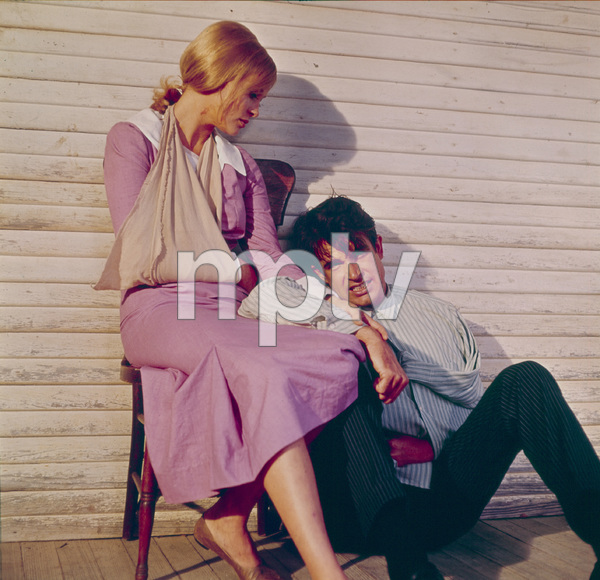 """Bonnie and Clyde""Faye Dunaway and Warren Beatty1967 Warner Bros. © 1978 David Sutton - Image 3314_0157"