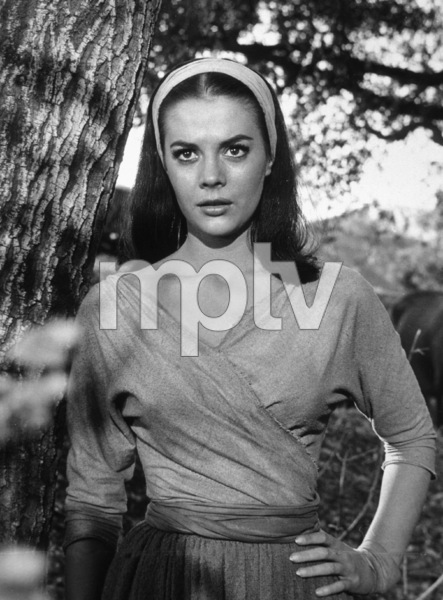 """The Burning Hills,"" Natalie Wood.1956/Warner Bros.Photo by Jack Wood - Image 3323_0105"