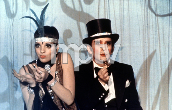 """""""Cabaret""""Liza Minnelli and Joel Grey.1972. © 1972 Allied Artists-ABC PicturesPhoto by Bud Fraker - Image 3325_0032"""