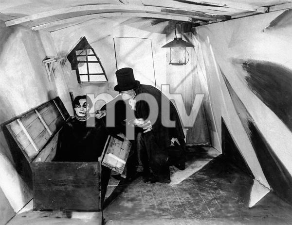 """The Cabinet of Dr. Caligari""Conrad Veidt, Werner Krauss1920 Decla-Bioscop AG - Image 3326_0037"