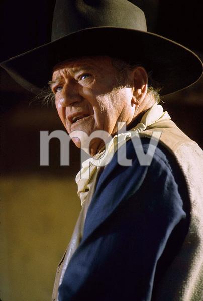 """Cahill, US Marshal,"" John WayneWarner Bros. 1973. © 1978 David Sutton - Image 3327_0004"