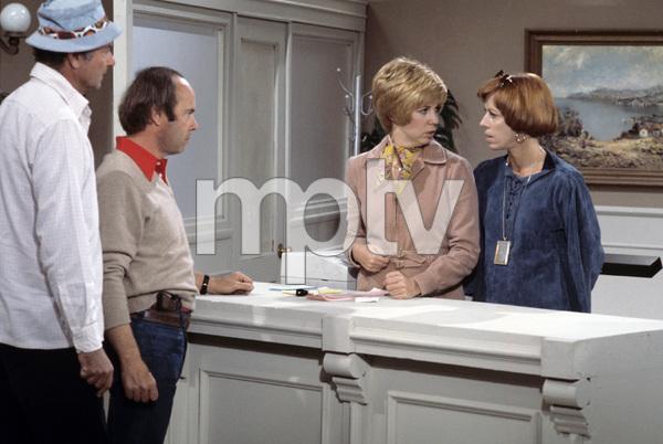 """The Carol Burnett Show""Harvey Korman, Tim Conway, Vicki Lawrence, Carol Burnettcirca 1977Photo by Gabi Rona - Image 3338_0035"