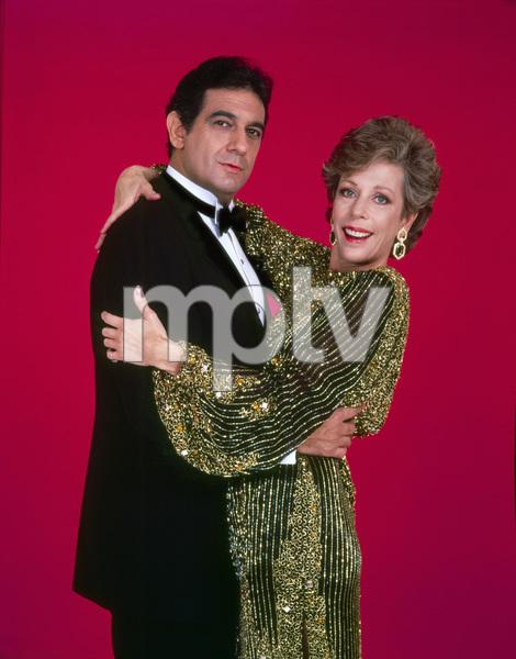 """The Carol Burnett Show""Carol Burnett, Placido Domingo1978Photo by Gabi Rona - Image 3338_0056"