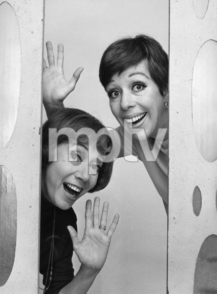 """The Carol Burnett Show""Imogene Coca, Carol Burnett1968Photo by Gabi Rona - Image 3338_0129"