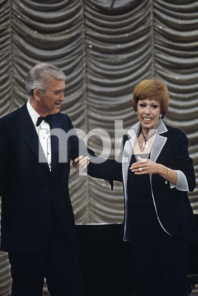 """The Carol Burnett Show""James Stewart, Carol Burnettcirca 1978 © 1978 Gunther - Image 3338_0157"