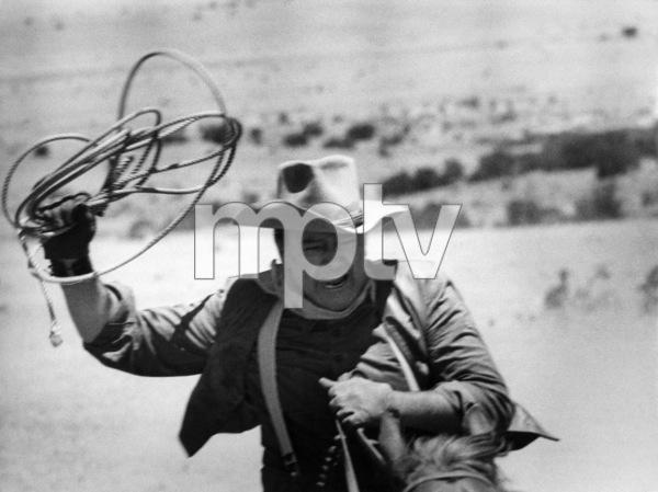 """The Cowboys"" John Wayne 1971 © 1978 David Sutton - Image 3370_0015"