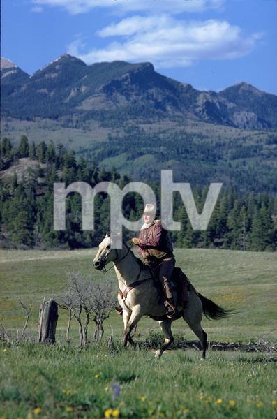 """The Cowboys,"" John WayneWarner Bros. 1971. © 1978 David Sutton - Image 3370_0025"