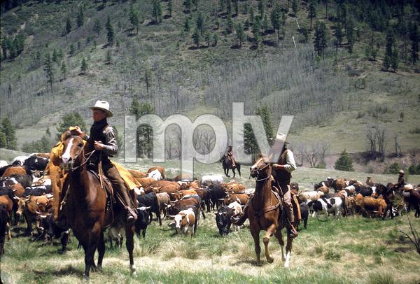 """The Cowboys,"" John WayneWarner Bros. 1971. © 1978 David Sutton - Image 3370_0168"