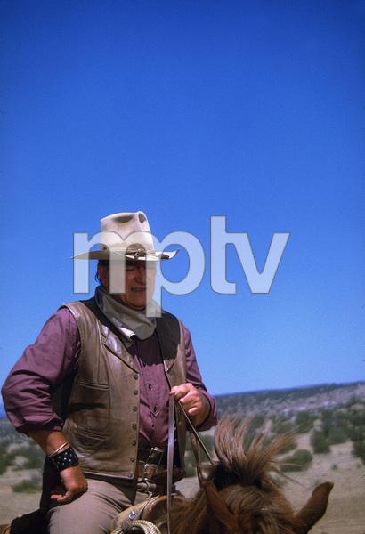 """The Cowboys,"" John WayneWarner Bros. 1971. © 1978 David Sutton - Image 3370_0169"