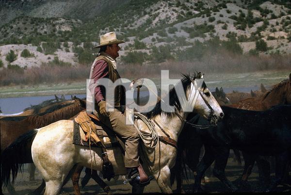 """The Cowboys,"" John WayneWarner Bros. 1971. © 1978 David Sutton - Image 3370_0582"