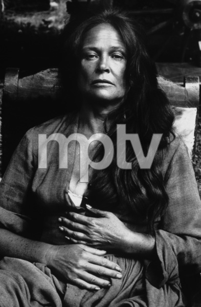 """""""The Cowboys""""Colleen Dewhurst on location in Colorado1971© 1978 Bob Willoughby - Image 3370_0590"""