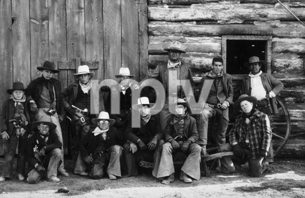 """The Cowboys,"" Warner Bros. 1971.John Wayne and his boys. © 1978 Bob Willoughby - Image 3370_0601"