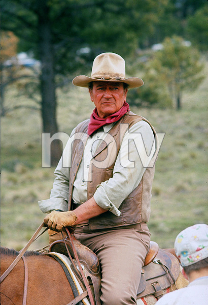 """The Cowboys,"" John WayneWarner Bros. 1971. © 1978 David Sutton - Image 3370_0613"