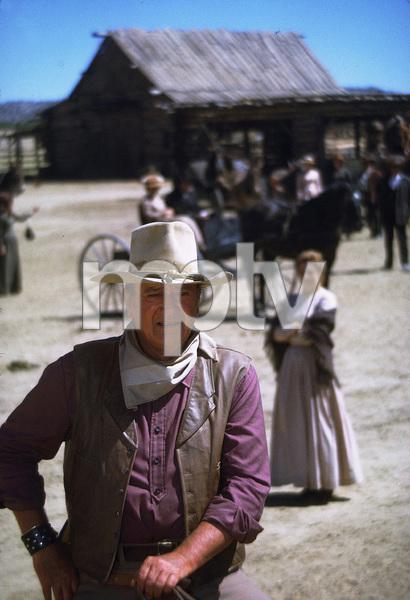 """The Cowboys,"" John WayneWarner Bros. 1971. © 1978 David Sutton - Image 3370_0627"