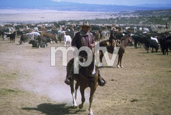 """The Cowboys,"" John WayneWarner Bros. 1971. © 1978 David Sutton - Image 3370_0632"