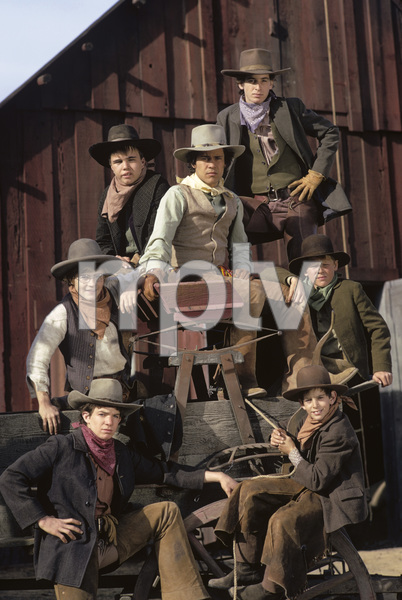 """The Cowboys""Kerry MacLane, Robert Carradine, A Martinez, Clint Howard, Clay O"