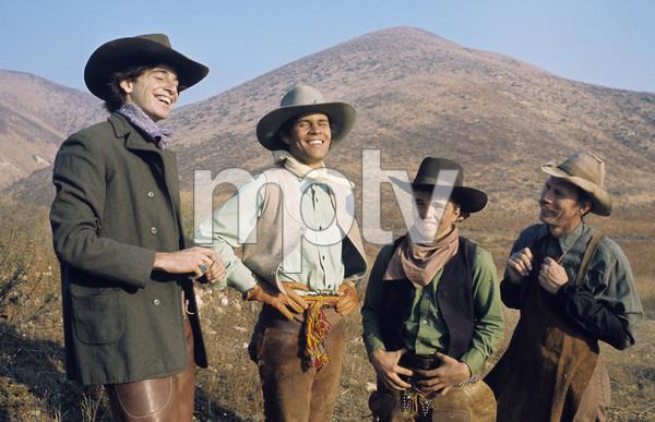 """The Cowboys""Robert Carradine, A Martinez, Clint Howard, Rance Howard1973** H.L. - Image 3370_0713"