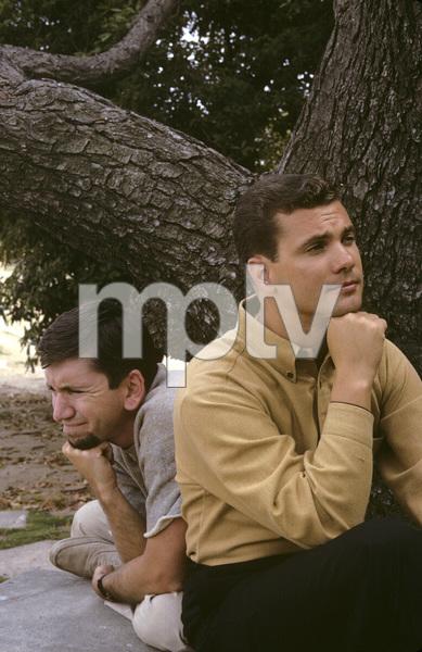 """""""The Many Loves of Dobie Gillis""""Bob Denver, Dwayne Hickman1961© 1978 Gene Trindl - Image 3397_0014"""