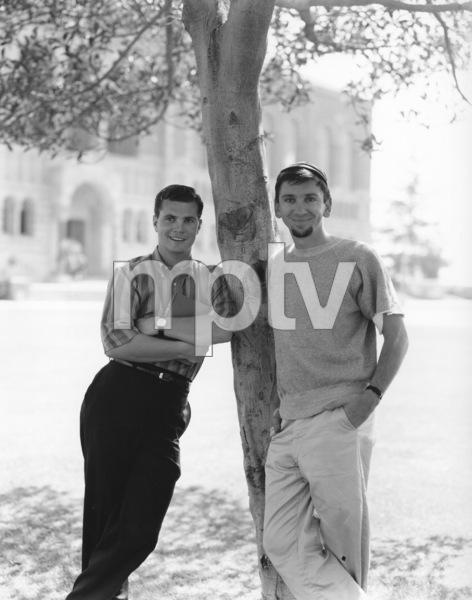 """The Many Loves of Dobie Gillis""Dwayne Hickman, Bob Denver1961Photo by Gabi Rona - Image 3397_0017"