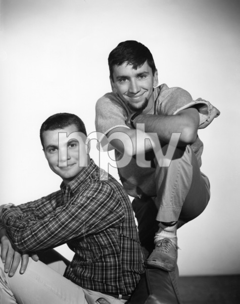 """The Many Loves of Dobie Gillis""Bob Denver, Dwayne Hickman1960Photo by Gabi Rona - Image 3397_0035"