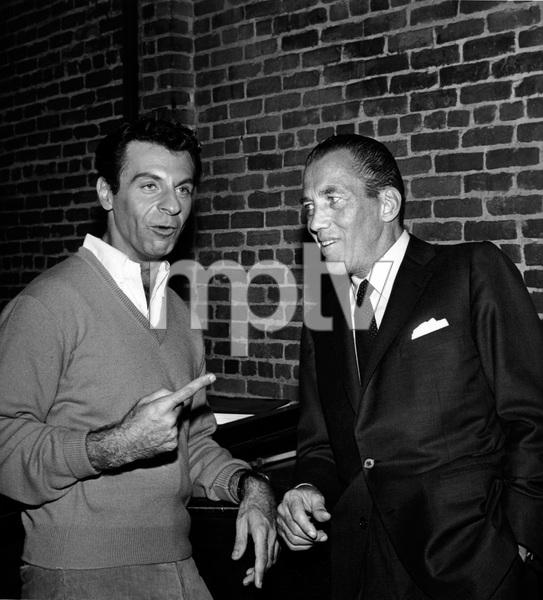 """The Ed Sullivan Show""Mort Sahl, Ed Sullivancirca 1960Photo by Gabi Rona - Image 3412_0011"