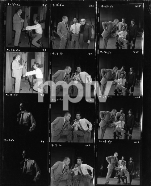 """The Ed Sullivan Show""Ed Sullivan, Johnny Mathiscirca 1954Photo by Gabi Rona - Image 3412_0012"