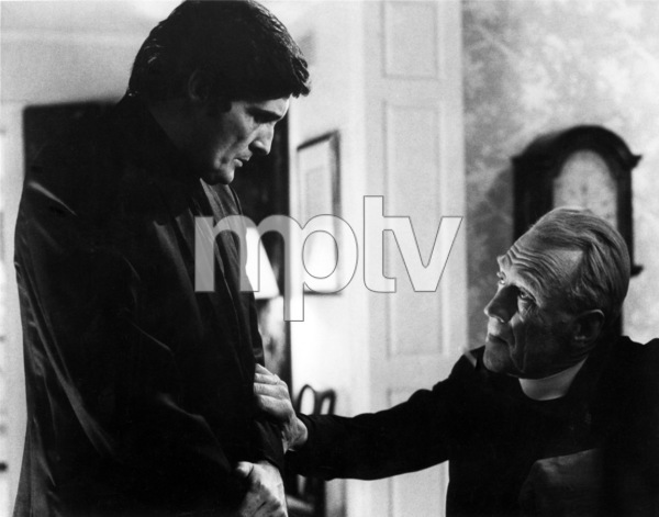 """The Exorcist"" Jason Miller, Max von Sydow 1973 Warner Brothers ** I.V. - Image 3420_0416"