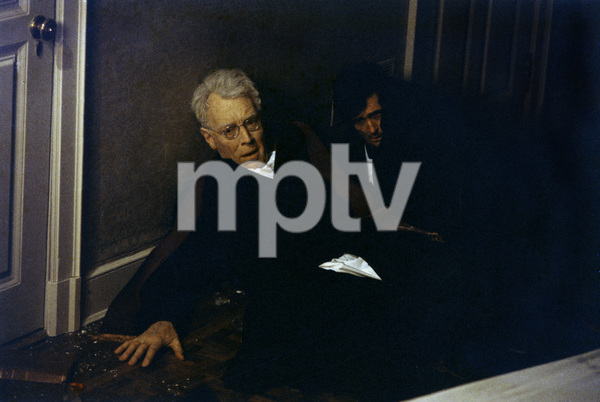"""The Exorcist"" Max von Sydow, Jason Miller 1973 Warner Brothers ** I.V. - Image 3420_0418"