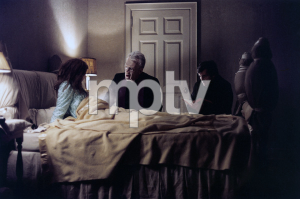 """The Exorcist"" Linda Blair, Max von Sydow, Jason Miller 1973 Warner Brothers ** I.V. - Image 3420_0420"