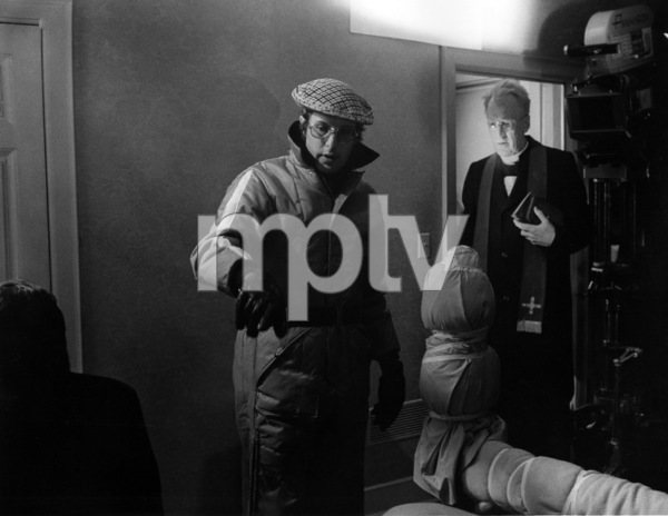 """""""The Exorcist"""" Director William Friedkin, Max von Sydow 1973 Warner Brothers ** I.V. - Image 3420_0430"""