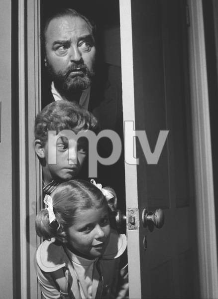 """Family Affair"" Sebastian Cabot, Johnny Whitaker, Anissa Jones 1968 CBS Photo by Wynn Hammer - Image 3423_0009"