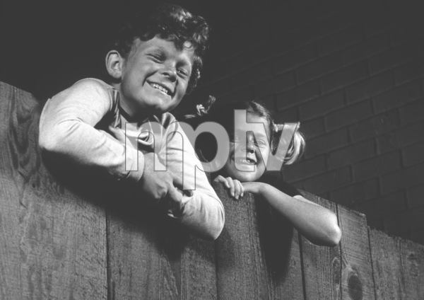 """Family Affair"" Johnny Whitaker, Anissa Jones 1968 CBS Photo by Wynn Hammer - Image 3423_0011"