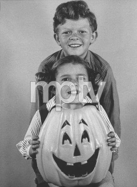 """Family Affair"" Johnny Whitaker, Anissa Jones 1968 CBS Photo by Wynn Hammer  - Image 3423_0012"
