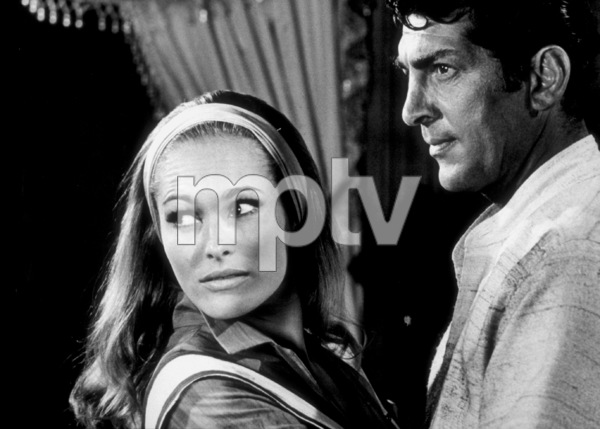 """Four For Texas,""Ursula Andress and Dean Martin1963 / Warner © 1978 Al St. Hilaire - Image 3438_0033"