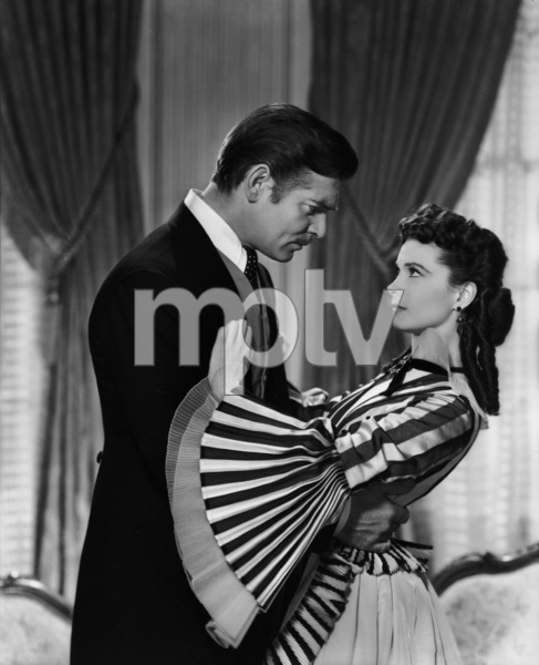 """Gone with the Wind""Clark Gable, Vivien Leigh1939 MGMPhoto by Clarence Sinclair Bull** I.V. - Image 3457_0227"