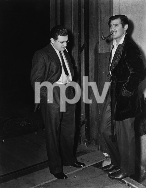 """Gone with the Wind""Producer David O. Selznick, Clark Gable1939 MGM** I.V. - Image 3457_0230"