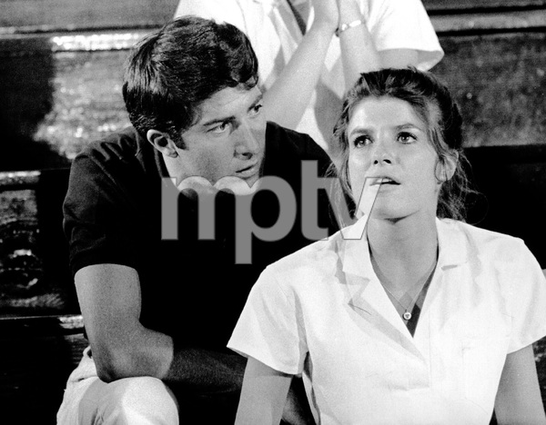 """""""The Graduate""""Dustin Hoffman, Katharine Ross1967 Embassy Pictures Corporation - Image 3461_0021"""