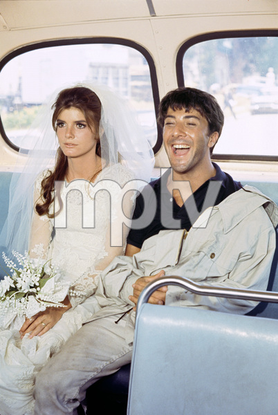 """""""The Graduate""""Katharine Ross, Dustin Hoffman1967© 1978 Bob Willoughby - Image 3461_0372"""