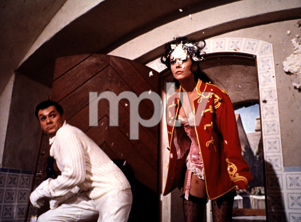 """""""The Great Race""""Tony Curtis and Natalie Wood © 1965 WarnerPhoto by: Mel Traxel - Image 3467_0007"""