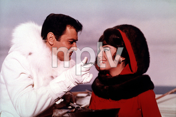 """""""The Great Race,""""Tony Curtis and Natalie Wood1965 Warner Bros. © 1978 Mel Traxel - Image 3467_0315"""