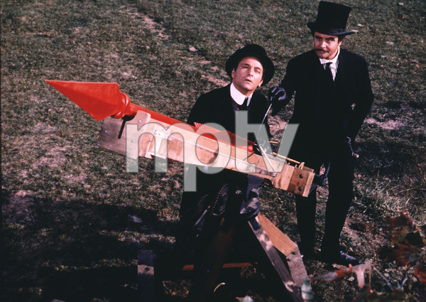 """""""The Great Race,""""Peter Falk and Jack Lemmon1965 Warner Bros. © 1978 Mel Traxel - Image 3467_0331"""