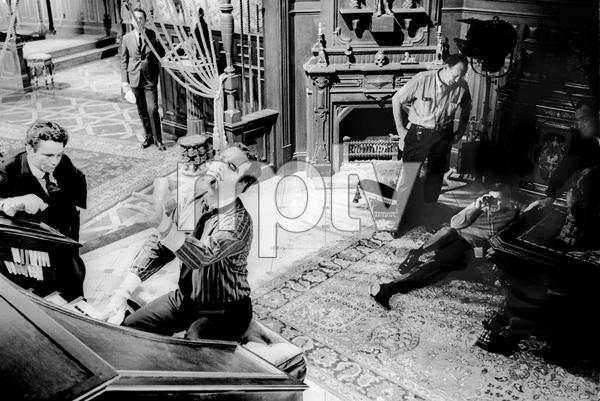 """The Great Race""Peter Falk, Jack Lemmon, director Blake Edwards1964 Warner Brothers © 1978 Bob Willoughby - Image 3467_0404"