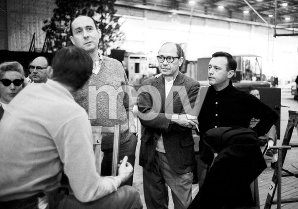 """The Great Race""Director Blake Edwards, Henry Mancini, Johnny Mercer, Martin Jurow1964 Warner Brothers © 1978 Bob Willoughby - Image 3467_0409"