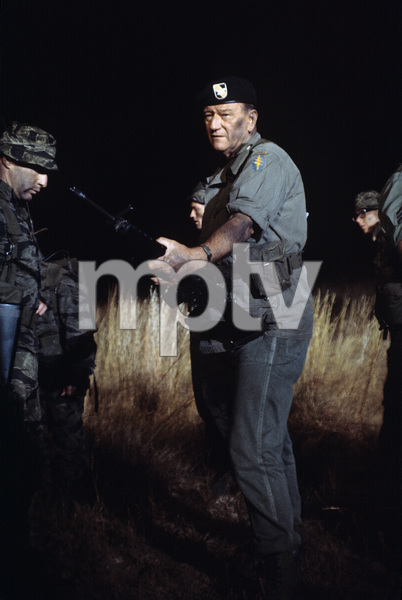 """The Green Berets""John Wayne1967 Warner Bros.© 1978 David Sutton - Image 3469_0157"