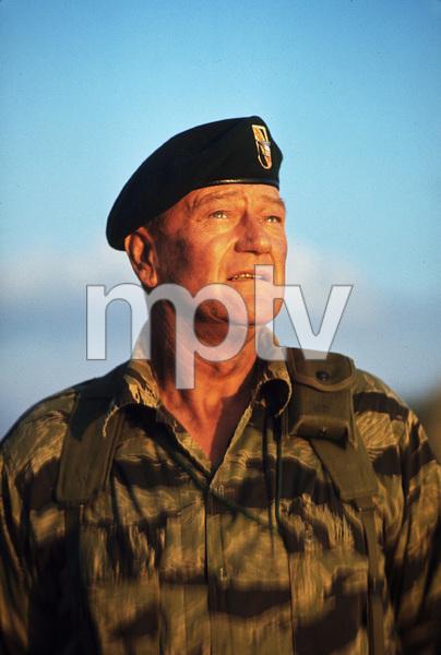 """The Green Berets,"" John WayneWarner Bros. 1967. © 1978 David Sutton - Image 3469_0165"